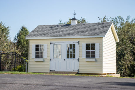 12x16 vinyl sided sheds va