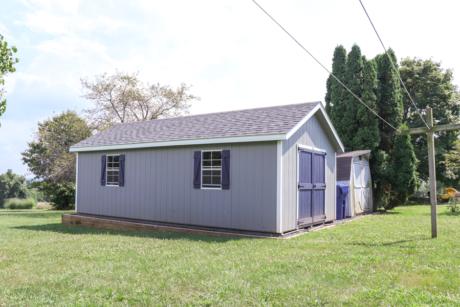 12x24 backyard classic workshop storage shed
