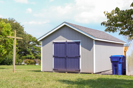 12x24 classic workshop shed with smart panel siding