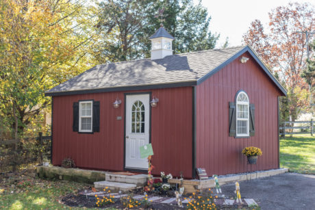 wooden storage shed pa