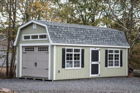 storage shed single car garage