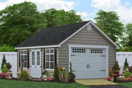12x24 vehicle garage