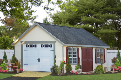 14x24 garden vehicle garage in de
