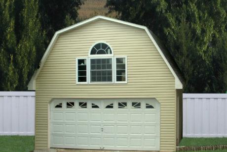 car garage with loft pa