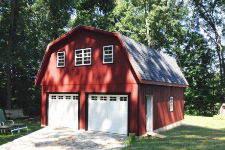 maxibarn two car garage 0