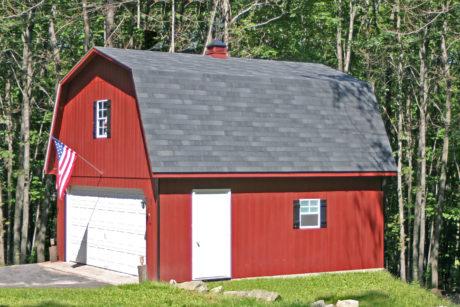maxibarn two car garage