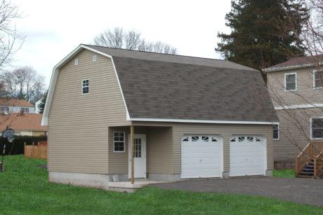 prefab garage with attic loft nj