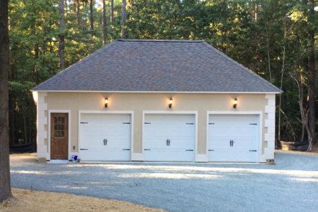 hip roof detached garage md