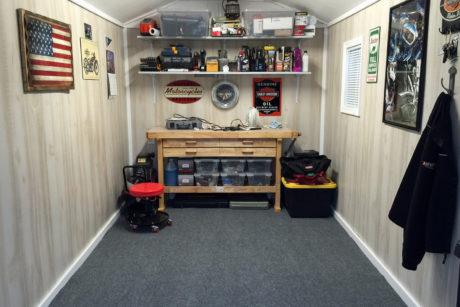 home workshop man cave ideas