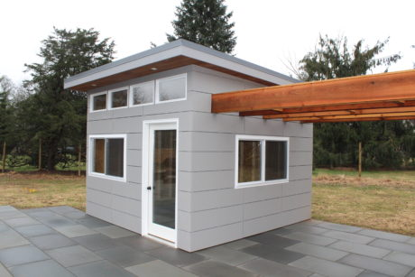 modern poolhouse studio shed nj