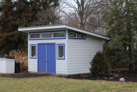 modern studio amish sheds