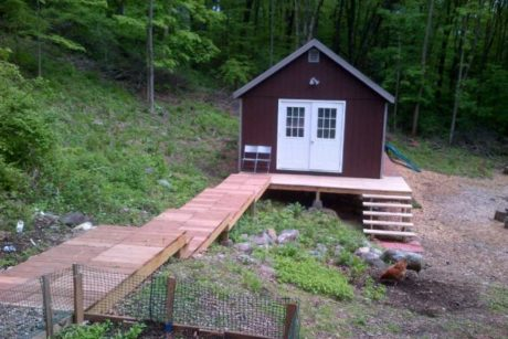 backyard art studio shed
