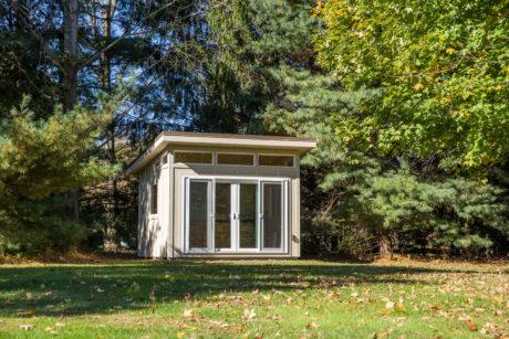 modern home art studio shed