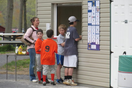 sport field concession stands in pa