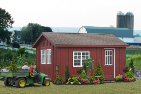 customized home workshop shed nj