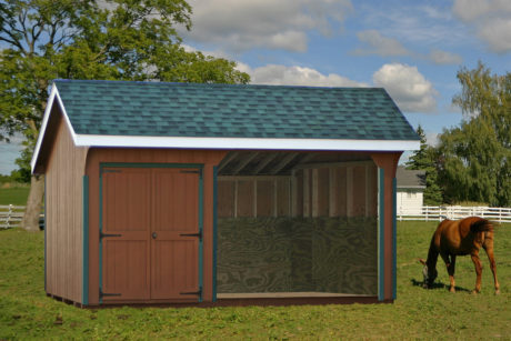 portable equine shelter run in pa
