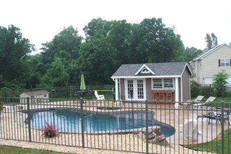 10x16 backyard poolhouse in pa jpg