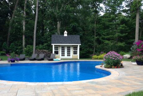 economical wooden poolhouse pa nj