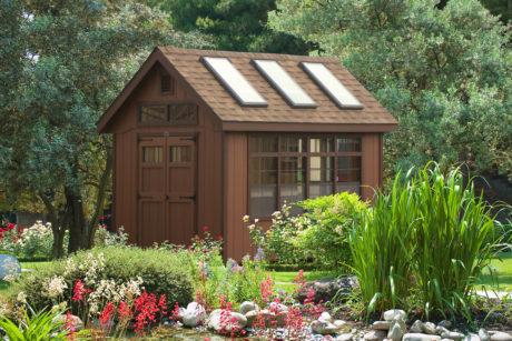 backyard potting sheds for sale pa
