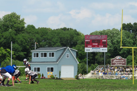sports field announcers booth nj