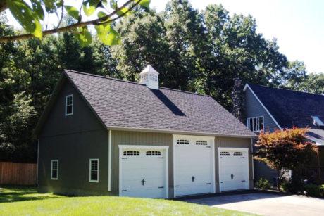buy custom four car garages de