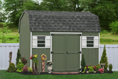 10x12 wooden economical shed