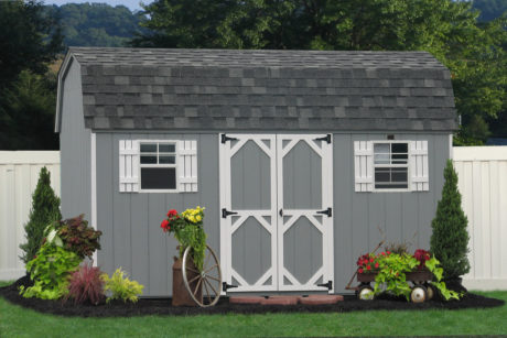 buy a wooden economy garden shed