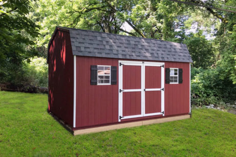 red maxibarn shed for sale