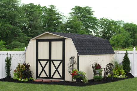 mini barn amish sheds workshop