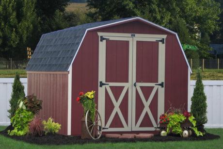 wooden amish sheds