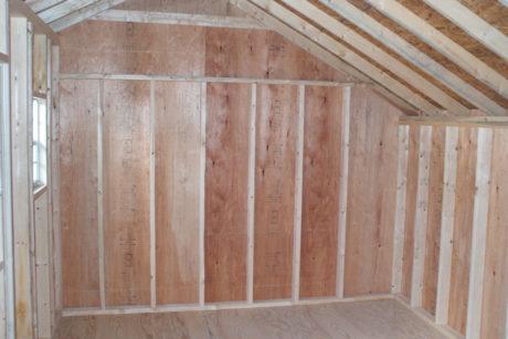 garden shed interior photos