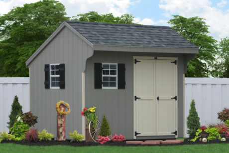pre built wooden backyard sheds