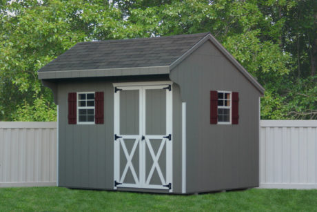 small amish built garden sheds