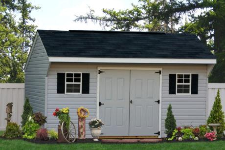 vinyl garden shed design ideas