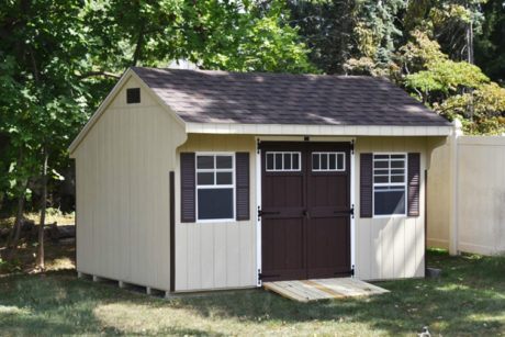 wooden garden shed for cheap