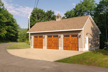 saltbox garage