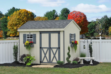 8x10 wooden storage shed