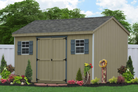 amish workshop sheds built on site