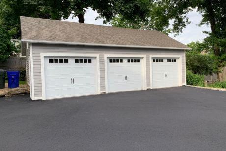 20x34 standard workshop 3 car garage for sale in ct