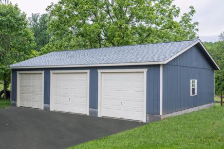28x40 portable workshop 3 car garage