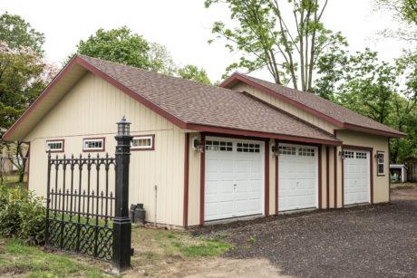 economy three car garage for sale farmingdale nj