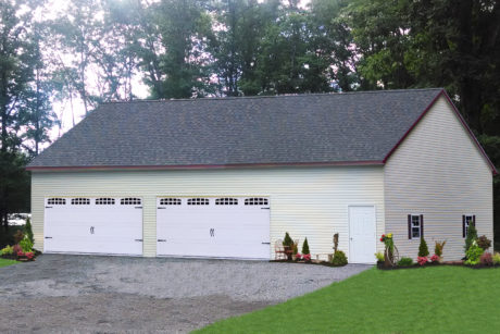 four car garage with plans