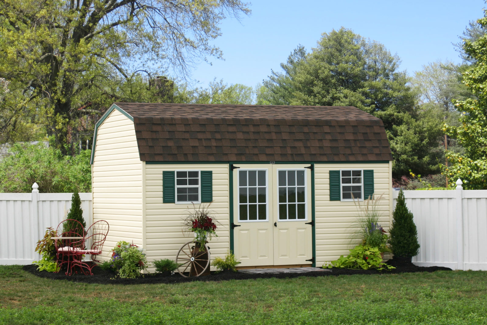 10x16 vinyl sided sheds in pa
