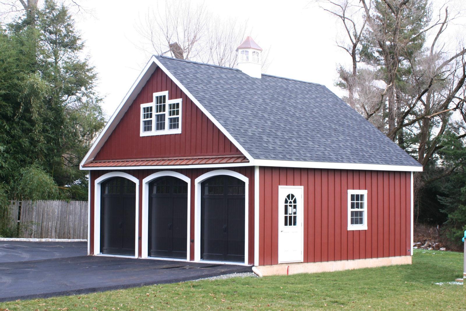 three car amish attic
