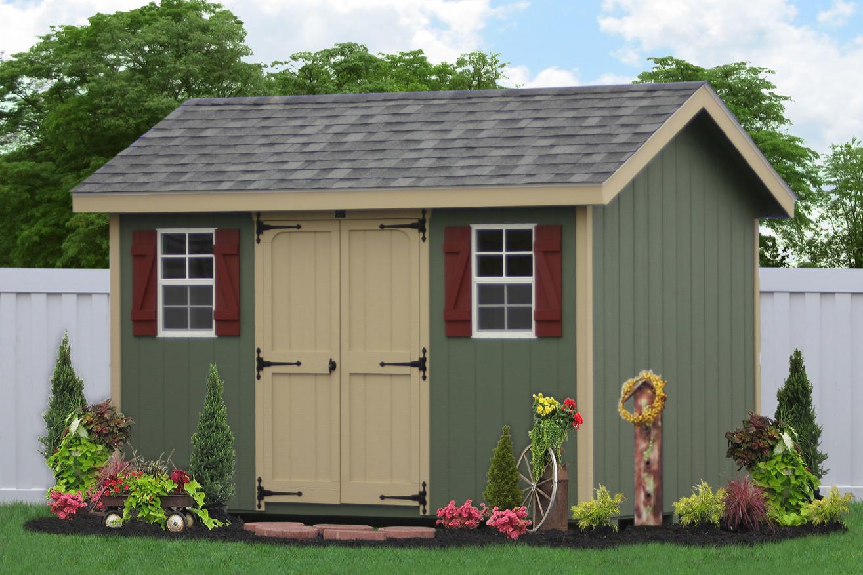 8x12 backyard storage sheds