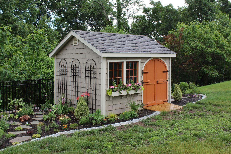 backyard storage sheds for garden