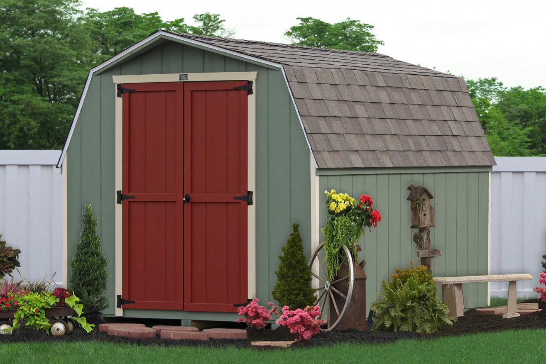 minibarn backyard storage sheds