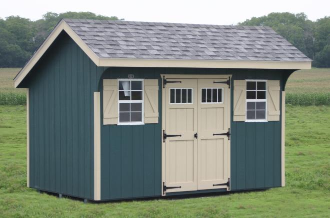 wooden backyard storage sheds