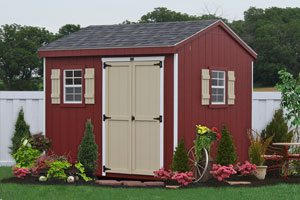 wooden discounted shed kit