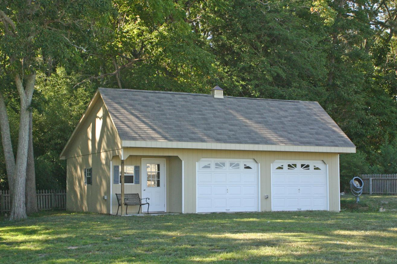 two car custom garages in ithaca new york